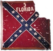 5th Florida Infantry Battle Flag