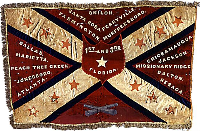 1st & 3rd Florida Infantry  Battle Flag