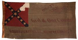6th & 7th Arkansas Confederate Battle Flag