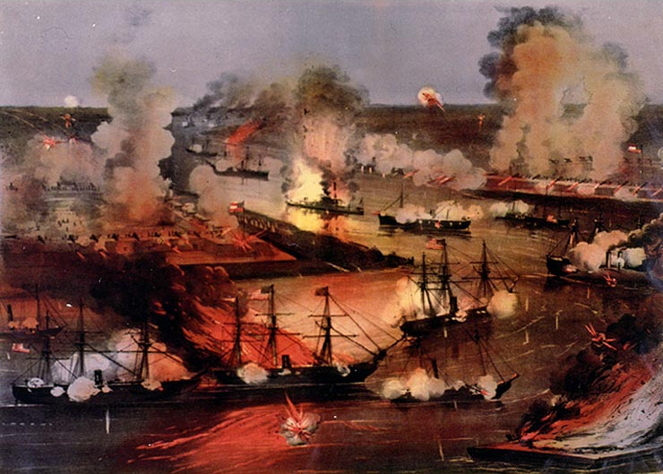Battle of Forts Jackson and St. Phillips