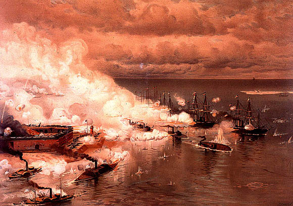 Battle of Mobile Bay, August 5, 1864