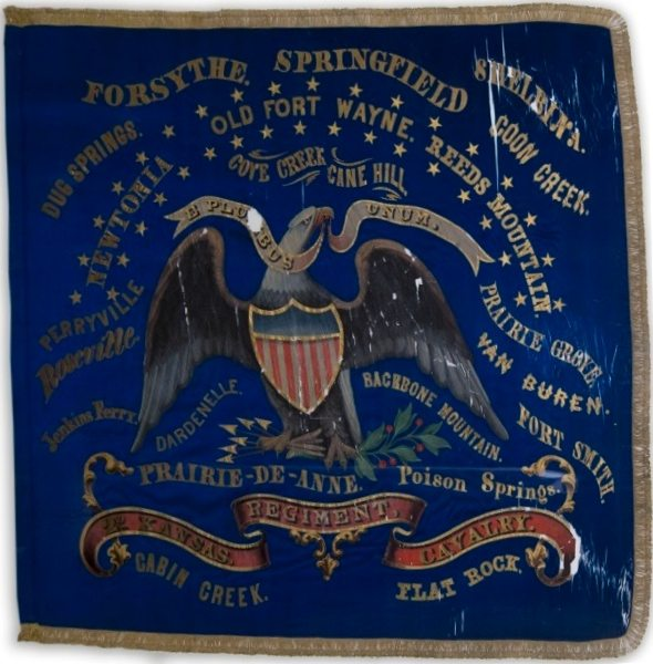 2nd Kansas Cavalry Battle Flag