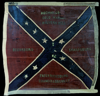 2nd. North Carolina Infantry Confederate Battle Flag