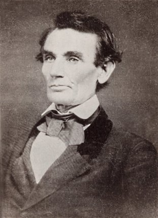 Abraham Lincoln Picture by Alschuler, 1858
