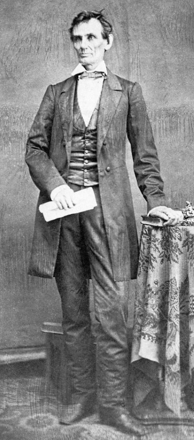 Lincoln Standing, 1860
