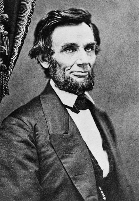 Lincoln by German, 1861