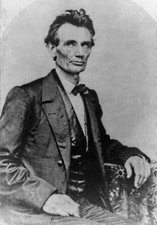 Lincoln by Marsh, 1860