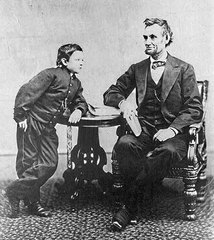 Lincoln and Tad