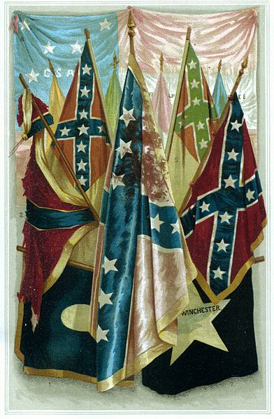 Famous Confederate Battle Flags