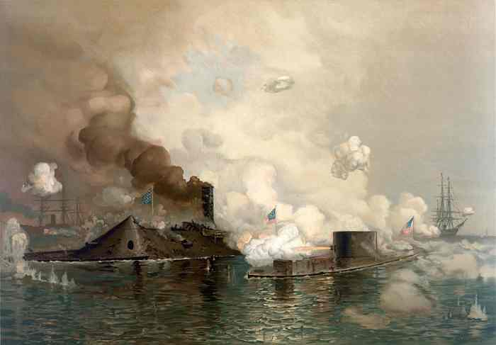 Battle of Hampton Roads - March 9, 1862