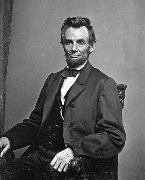 Lincoln by Brady, January 1864