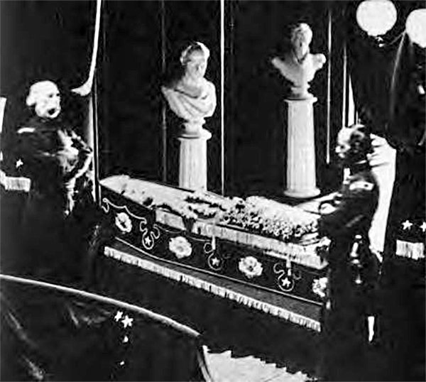 Lincoln Open Casket