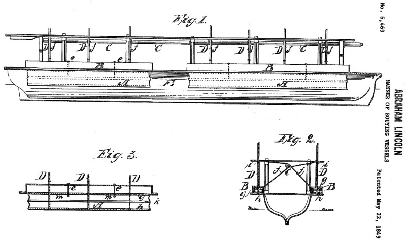 Lincoln Patent Sketches
