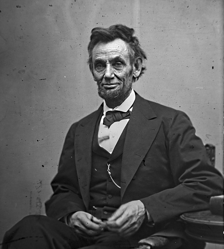 Lincoln by Gardner, February 1865