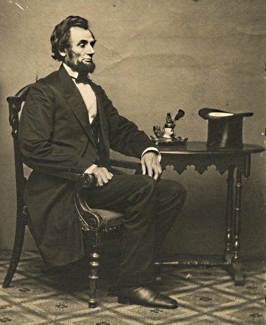 First Picture of Lincoln After Arrival in Washington D.C.