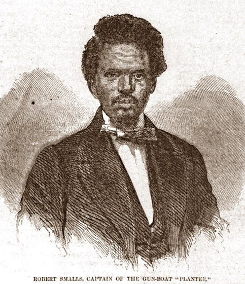 Robert Smalls during the Civil War.
