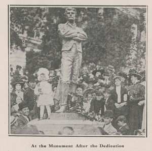 Dedication of a Sam Davis Monument in Tennessee